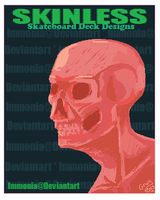 Skinless poster by Immonia
