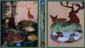 Bambi DVD Cover by dyb
