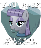 Maud Pie Valentine by Ilona-the-Sinister