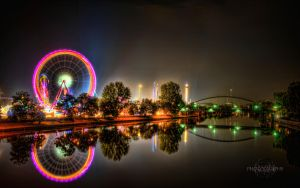 Volksfest HDR Background by Creative--Dragon