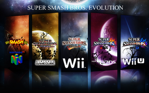 Super Smash Bros. Evolution Wallpaper 2 by TheWolfBunny