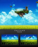 SkyLand - Wallpack by LongyZ