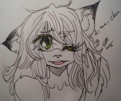 - Eyy, My Hair Is All Purty n' Shet Loooook - by Benchie-Chan