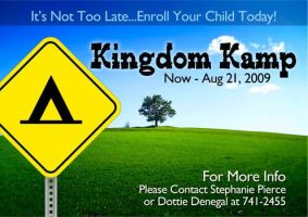Kingdom Kamp Ad by cgitech
