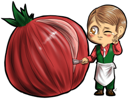 Hannibal vegetables - Onion by FuriarossaAndMimma