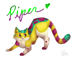 Piper .:GiftArt:. by TheCluelessCat