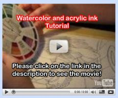 Watercolor Tutorial Video 7 by lady-cybercat