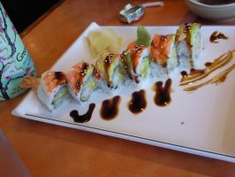 tiger roll by fatcatmeow