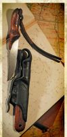 neck knife by WSi