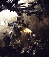 Crysis Large Art -gift- by Mornothly