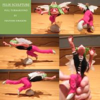 Full Felix Sculpture by Feather-Dragon