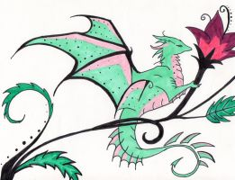 Dragon by Nerwen64