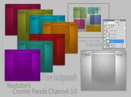 FREE Youtube's Cosmic Panda Bg pack by demeters