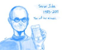 Steve Jobs Tribute by DoomSong8765