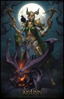 Demon Hunter by JomaroKindred