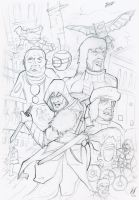 The Life of Ezio Sketch by MatthewHogben