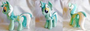 Lyra - Custom Plush by Fire-Topaz