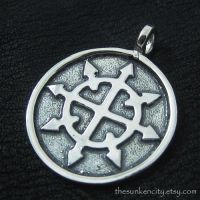Chaos Star pendant (sterling silver) by Sulislaw