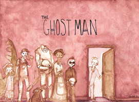 Watercolour- The Ghost Man by annit-the-conqueror