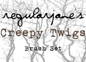 Brush Pack Creepy Twigs by regularjane