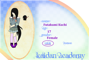 Kaidan Academy Application - Futakumi Kuchi