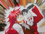 Grell Sutcliff || Black Butler by HideakiArtReal