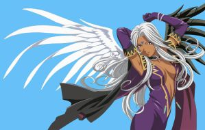 Ah My Goddess Urd by gamera68