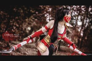 League of Legend, Akali the Fist of Shadow by fritzfusion