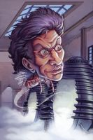 Jeff Goldblum by bonvillain