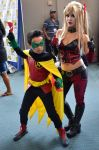 Damian and Harley: A Disastrous Duo by FloresFabrications