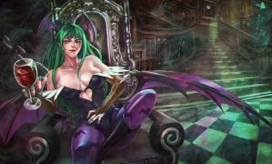 Commission - Morrigan by MonoriRogue