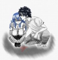 Thank you for a gift Juvia by Isayuuki