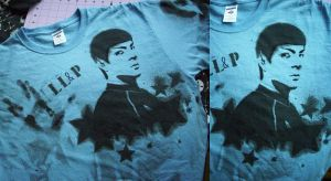 Spock Shirt by MCRizLIFE
