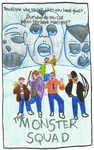 The Monster Squad vhs cover by wislingsailsmen