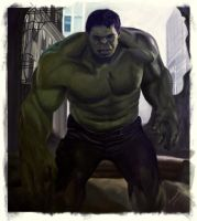 HULK part 1 by arinako