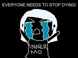Stop Dying by PEPPERsLAUGHTER