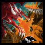 Colored Solarfall Dragon Rush by Reithya
