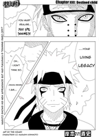 naruto vs pein .manga version. by The-vizard