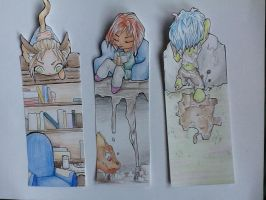 Bookmark set 3 by Manny9591