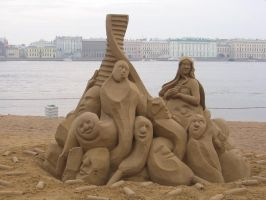 Sand sculpture 2 by RitaFromRussia