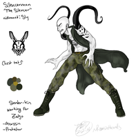 The Silencer~ Whoa A CP OC by RoomsInTheWalls