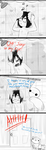Baymax moments-Shower by Starry-Bat1