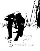 Searching lineart by Night-Forager