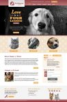 Pet Rescue by Judy website redesign by vsMJ