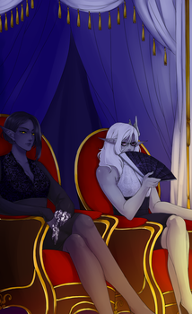 AA: Kat n' Ara go to the Symphony by und34dmuffin