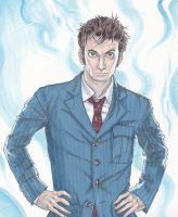 tenth doctor by laurenloogie