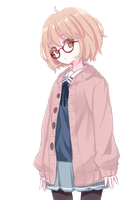 Kyoukai no kanata render by Lcookies