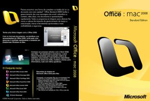 Office 2008 Mac DVD Cover by Natyvw