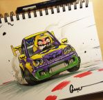 Wario Drift Team Weeners by Omar-Dogan