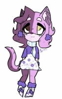 Old OC adopt: Cali CoCoa [CLOSED] by PastelPastryClown